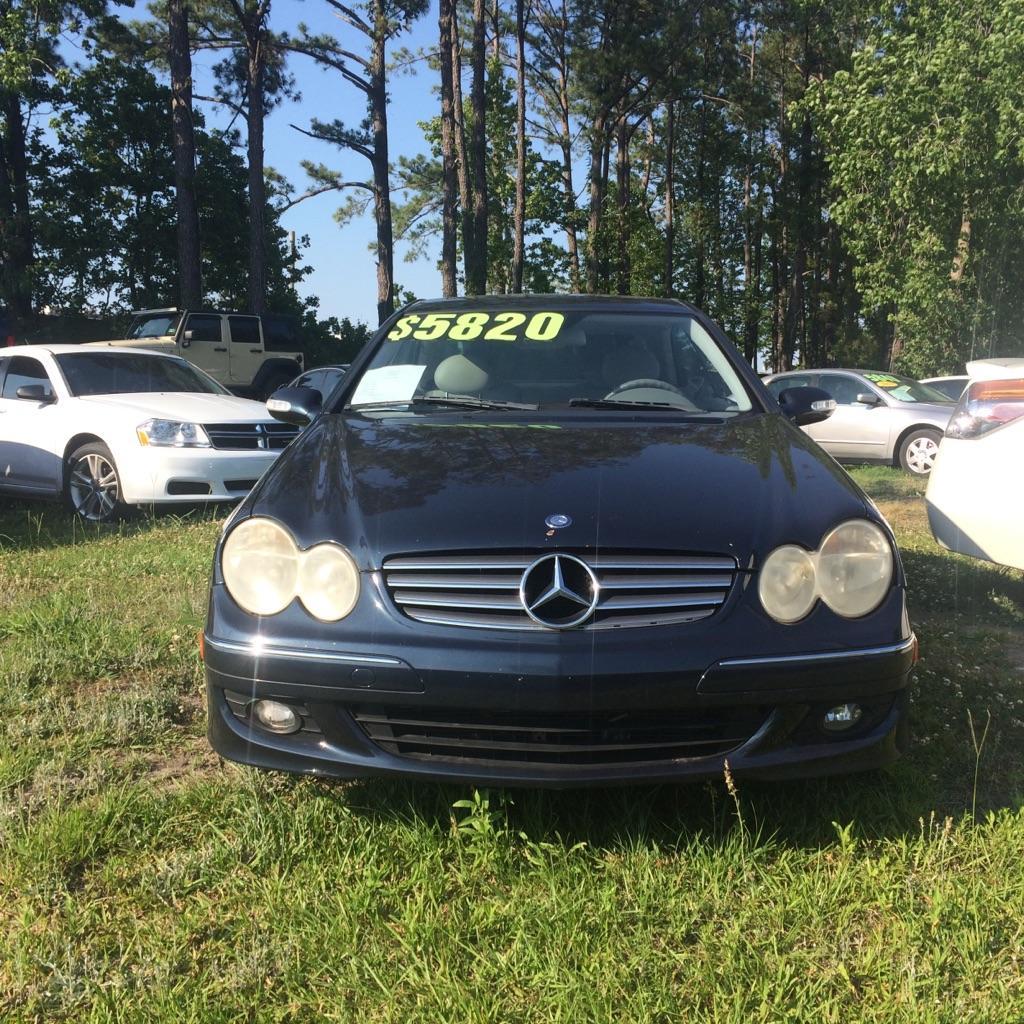 2004 Mercedes Benz CLK Class CLK320
